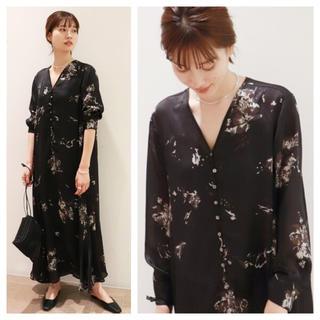 Plage - 【新品タグ付】Plage Calm flower ドレス サイズ36