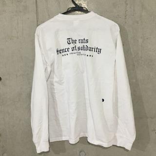 ラッツ(RATS)の★RATS★ PRINT L/S OLD ENGLISH ロンT 白[XL](Tシャツ/カットソー(七分/長袖))