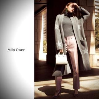 ミラオーウェン(Mila Owen)のMila Owen ミラオーウェン 星柄ロングカーディガン(ニットコート)