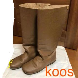 コース(KOOS)のコースブーツ①(ブーツ)
