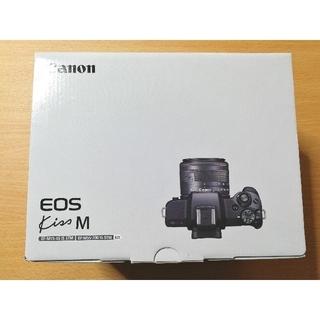 Canon - 【新品未使用】Canon EOS Kiss M レンズセット ホワイト 保証有