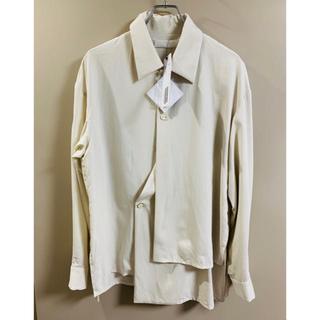 SUNSEA - エトセンス ethosens レイヤードカッティングシャツ