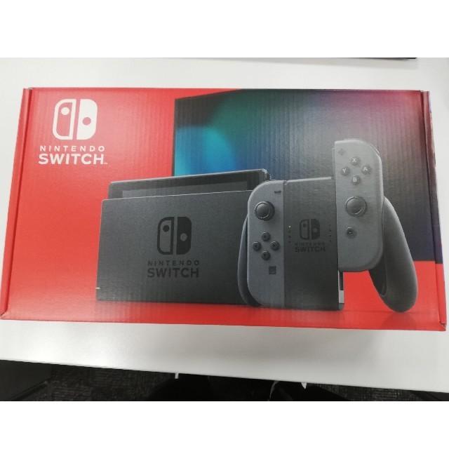 Nintendo Switch(ニンテンドースイッチ)の【最終】Nintendo Switch グレー✕4台 エンタメ/ホビーのゲームソフト/ゲーム機本体(家庭用ゲーム機本体)の商品写真