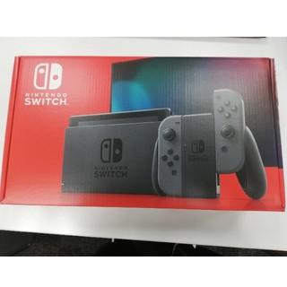 ニンテンドースイッチ(Nintendo Switch)の【最終】Nintendo Switch グレー✕4台(家庭用ゲーム機本体)