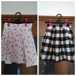 evelyn - レディーススカート 2枚セット Mサイズ