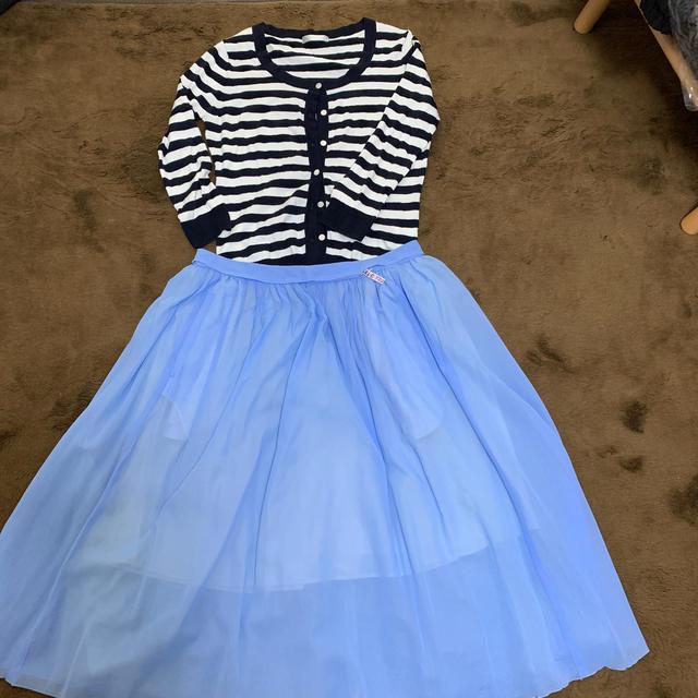 TOMORROWLAND(トゥモローランド)のsale トゥモローランド ミモレ丈スカート レディースのスカート(ひざ丈スカート)の商品写真