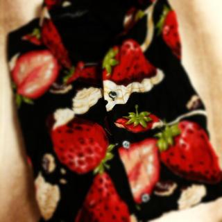ミルクボーイ(MILKBOY)のMILK BOY♡いちごシャツ(シャツ)