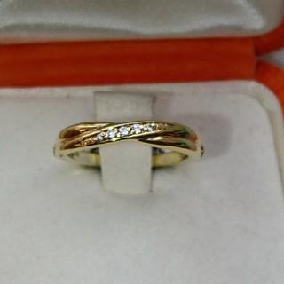 カナルヨンドシー(canal4℃)のカナル4℃ ディズニー アリエル モチーフ ダイヤモンド リング(リング(指輪))