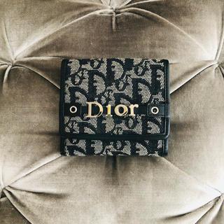 クリスチャンディオール(Christian Dior)のタイムセール✨クリスチャンディオール 💙 折り財布(財布)