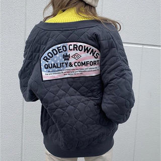 RODEO CROWNS WIDE BOWL - USA キルティング スナップボタン SW BLK/F