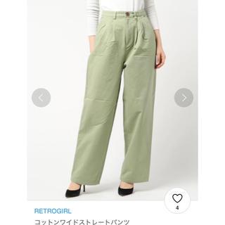 RETRO GIRL - 新品タグ付き♡RETRO GIRLワイドストレートパンツ
