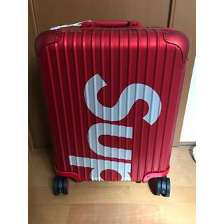 Supreme - Supreme RIMOWA Topas Multiwheel 45L red