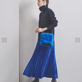UNITED ARROWS - ユナイテッドアローズ アコーディオン プリーツスカート 新品