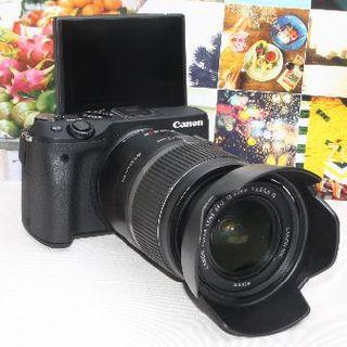 Canon - ❤️WiFi搭載&手振れ補正&予備バッテリー付き❤️キャノンEOS M3❤️