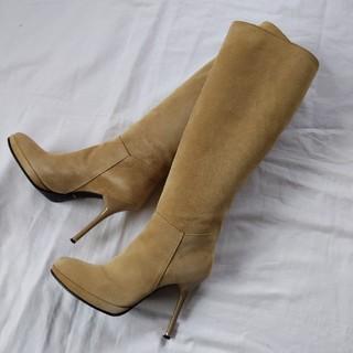 コメックス(COMEX)の美品 レディース スエードブーツ 22cm COMEX(ブーツ)