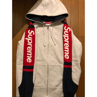 Supreme - 15 AW Hooded Track Zip Up Sweat シュプリーム