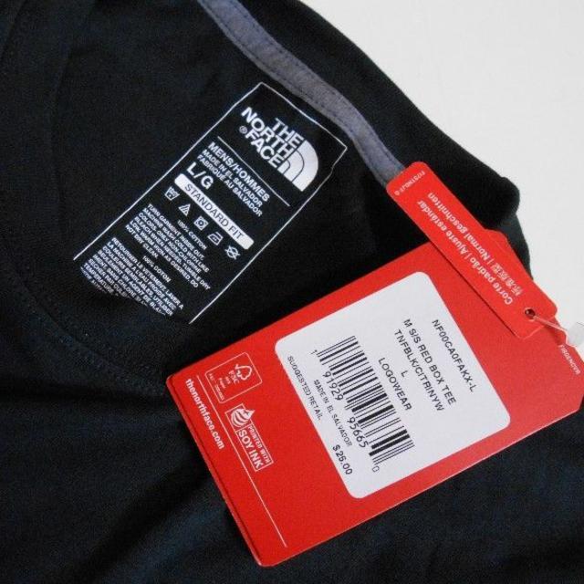 THE NORTH FACE(ザノースフェイス)のノースフェイス*US:L/BL-Yel/ボックスロゴプリント半袖Tシャツ メンズのトップス(Tシャツ/カットソー(半袖/袖なし))の商品写真
