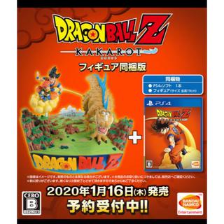 PlayStation4 - PS4 ドラゴンボールZ KAKAROT カカロット ゲオ限定 フィギュア同梱版