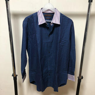 エトロ(ETRO)のエトロ ETRO チェックシャツ 43(シャツ)