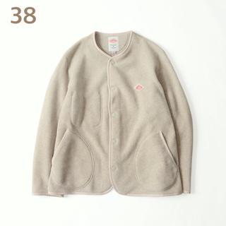 DANTON - 期間限定☆新品未使用 ダントン フリース ノーカラージャケット マーブル 38