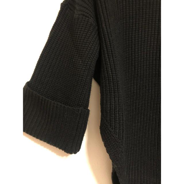 Ameri VINTAGE(アメリヴィンテージ)のOUTRO SOL タートルネックアシンメトリービッグシルエットニットハイネック レディースのトップス(ニット/セーター)の商品写真