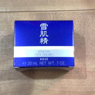セッキセイ(雪肌精)の新品未使用品✨雪肌精 アイクリーム(アイケア/アイクリーム)