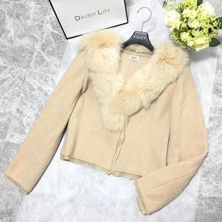 FOXEY - 美品 フォクシー FOXEY  フォックス ファー カシミヤ コート ジャケット