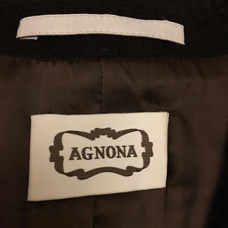 アニオナ(Agnona)のミラノで購入AGNONAカシミア100%(チェスターコート)
