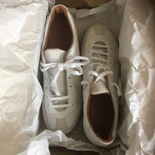 マルタンマルジェラ(Maison Martin Margiela)の新品 German trainer sneaker ※19日までの出品(スニーカー)