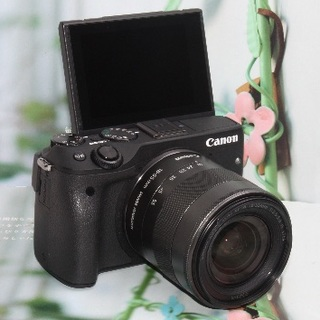 Canon - ❤️Wi-Fi&手振れ補正&予備バッテリー❤️キヤノン EOS M3❤️