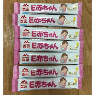 森永乳業 - 森永 E赤ちゃん 粉ミルク スティック 7本