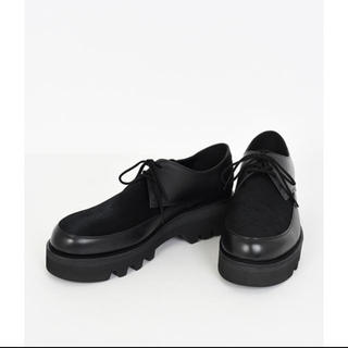 LAD MUSICIAN - U-TIP SHOES HAIR CALF 19aw 新品