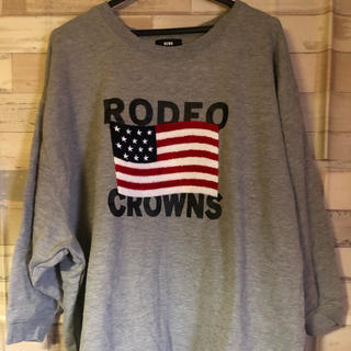 RODEO CROWNS - ❤RODEO  CROWNS星条旗トレーナーワンピース❤