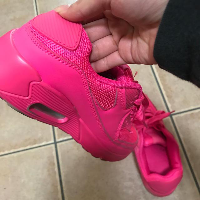 ESPERANZA(エスペランサ)の蛍光 ピンク スニーカー ESPERANZA エスペ レディースの靴/シューズ(スニーカー)の商品写真