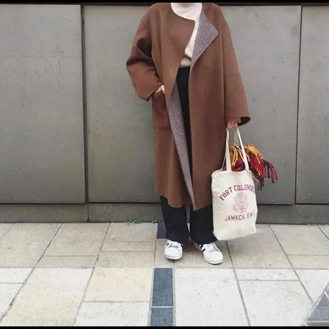 BEAUTY&YOUTH UNITED ARROWS(ビューティアンドユースユナイテッドアローズ)のroku購入!!大人気★レア リバーコート 38 レディースのジャケット/アウター(ロングコート)の商品写真