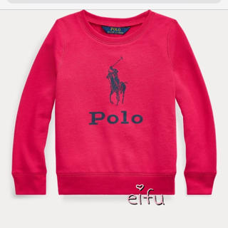 ラルフローレン(Ralph Lauren)の新作‼︎ ラルフローレン トレーナー ピンク 115センチ(Tシャツ/カットソー)