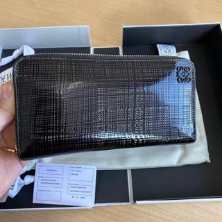 ロエベ(LOEWE)の極美品 ロエベ 財布 長財布 バッグ テクスチャ(財布)