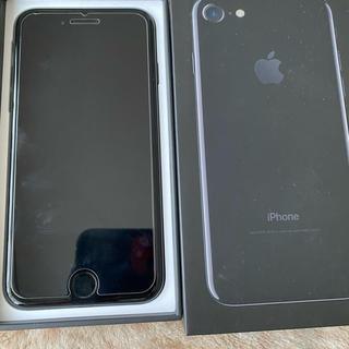 Apple - iPhone 7 ジェットブラック128 GB SIMフリー