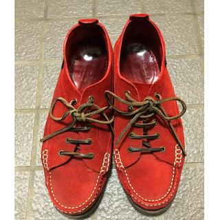 イッセイミヤケ(ISSEY MIYAKE)の【イッセイミヤケ】 issey miyake スエード paraboots 靴(デッキシューズ)