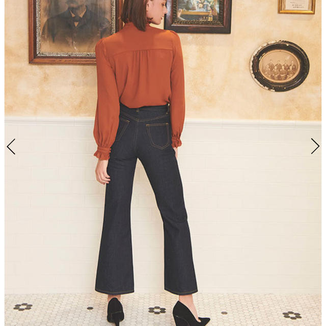 eimy istoire(エイミーイストワール)のエイミーデニムパンツ レディースのパンツ(デニム/ジーンズ)の商品写真