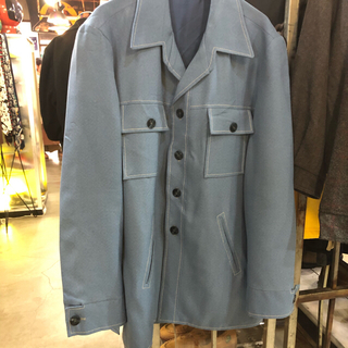 COMME des GARCONS - 70s 開襟 シャツジャケット
