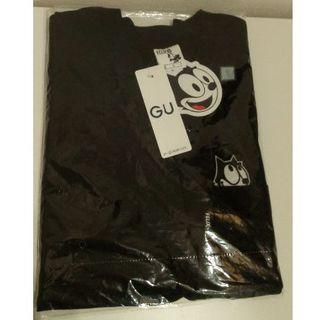 GU - 新品 フィリックス S ビッグT 黒 gu ポケット付き Tシャツ felix
