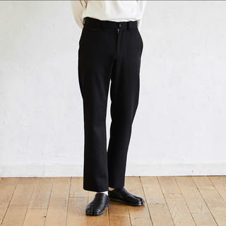 SUNSEA - ryo takashima straight slacks black 2