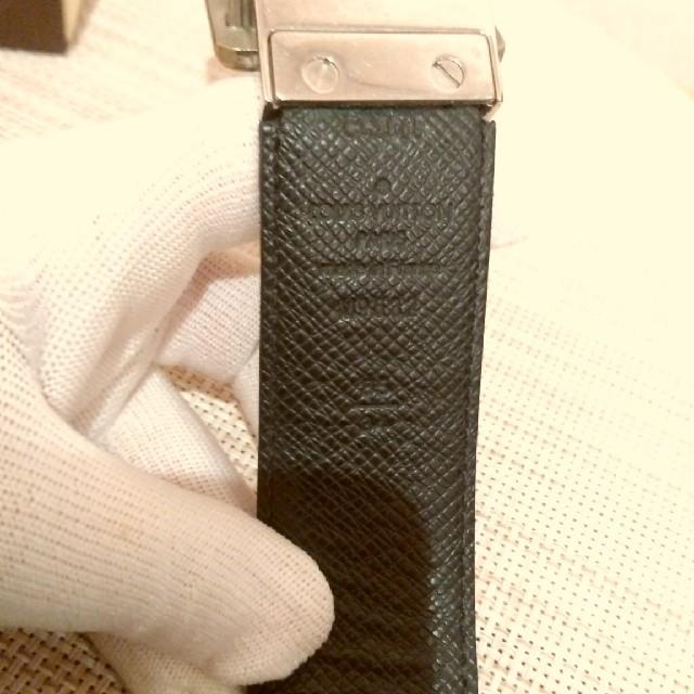 LOUIS VUITTON(ルイヴィトン)のLOUIS VUITTON ダミエベルト グラフィット メンズベルト メンズのファッション小物(ベルト)の商品写真
