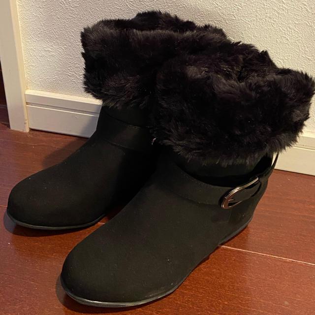 velikoko(ヴェリココ)のラクチンきれいシューズ ヴェリココ ショートブーツ 未使用 21.5cm レディースの靴/シューズ(ブーツ)の商品写真