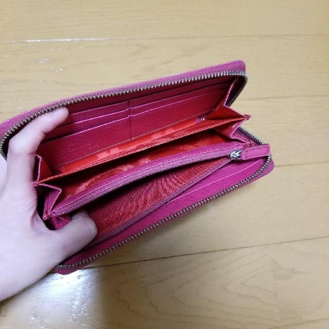 Vivienne Westwood(ヴィヴィアンウエストウッド)のヴィヴィアン 財布 ビビットピンク レディースのファッション小物(財布)の商品写真