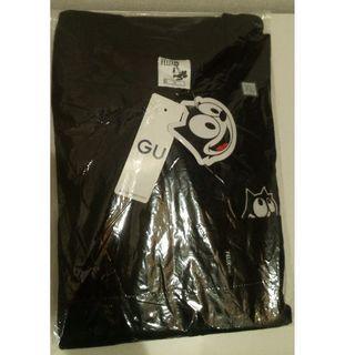 GU - 新品 フィリックス XL ビッグT 黒 gu ポケット付き Tシャツ felix