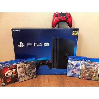 PlayStation4 - 【稼働良好‼️】ps4 pro ソフト4本 追加コントローラー おまけセット‼️