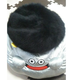アズールバイマウジー(AZUL by moussy)のアズール ファーベレー帽 美品(ハンチング/ベレー帽)