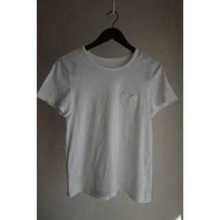 ミュベールワーク(MUVEIL WORK)のMUVEIL WORK ミュベールワークの白Tシャツ(Tシャツ(半袖/袖なし))